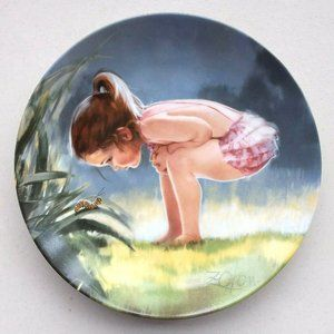TBE Small Wonder Vintage Collector Plate